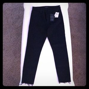 Lucky Brand black ankle jeans